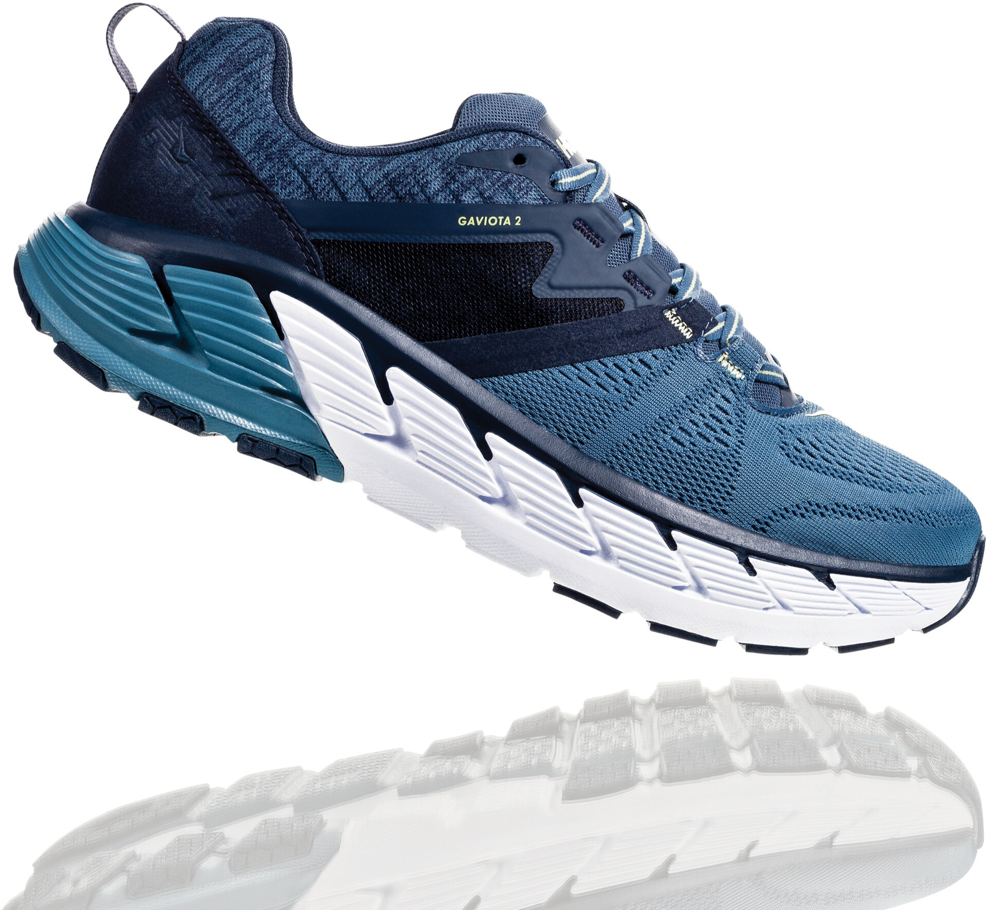 Hoka One One Gaviota 2 Running Shoes Herre moonlight oceanaegean blue